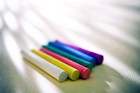 coloful chalk
