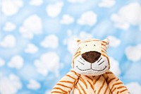 Wallpaper and animal shape, tiger (thumbnail)