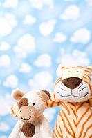 wallpaper and animal shape, cow and tiger