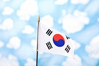 wallpaper and Korean flag, Taegeukgi