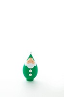 Green Santa Claus figurine