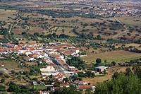 Landscape of agricultural field.
