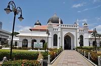George Town, Penang (Malaysia): the Kapitan Keling Mosque