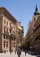 Traperia street, Murcia, Murcia city, Spain,