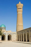 Kalyan Mosque and minaret, Bukhara, Uzbekistan, UNESCO World Heritage Site