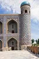 Tilla Kari Medressa, Registan, Samarkand, Uzbekistan, UNESCO World Heritage Site