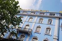 Hotel Euler in Centralbahnplatz, Basel, Switzerland