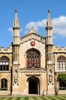 Corpus Christi College Chapel, Cambridge, England, UK