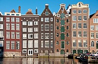 Damrak  Amsterdam  Netherlands  South Holland  Europe
