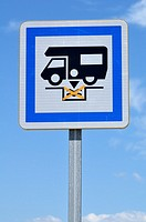 camping car sign