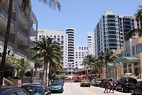 Collins Ave, Building in Miami Beach, Florida, USA