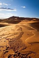 Morocco Sahara Desert near Erfoud Erg Chebbi