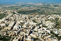 Mgarr, Aerial View, Gozo Island, Republic of Malta