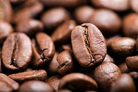 Coffee beans, close_up
