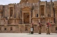 Southern Theatre, Jerash, Jordan, Asia