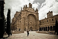 San Esteban Church and convent  Salamanca  Castilla y Leon  Spain