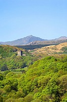 Snowdon and Dolwyddelan Castle Snowdonia Wales