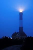 Foggy Night, Fire Island Lighthouse, Long Island, NY