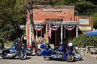 Nevada's oldest saloon in Genoa City, the first permanent settlement in Nevada, Nevada, United States of America, North America