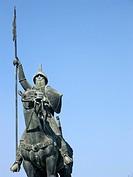 Reiterdenkmal in Porto