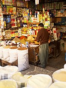 Store in the Medina, Fez, Morocco, North Africa, Africa