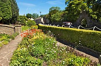 Waddington village gardens,Lancashire,England