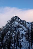 Schöne Schneelandschaft