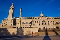 Lluis Companys Olympic Stadium, Montjuic, Barcelona, Catalonia, Spain