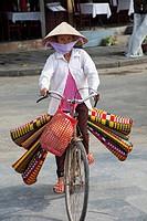Vietnam, Hoi An, Cyclist