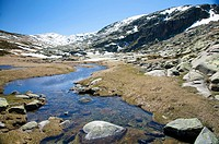 gredos mountain river