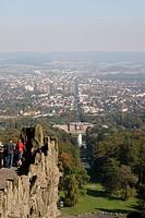 Kassel und Wilhelmshöhe vom Herkules
