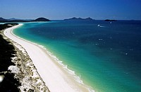 Queensland _ Whitsunday Islands _ Whitsunday _ Whitehaven beach
