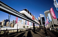 New South Wales _ Sydney _ Monorail _ Pyrmont Bridge