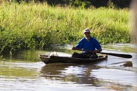 Traditional canoe _ Tortuguero