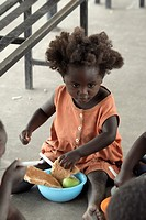 feeding, people, namibia, children, person, food