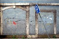 Façade, Lisbon, Portugal