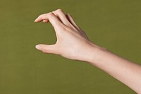 Close_up of hands gesturing sign language