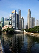 Singapore, Central Business District, Singapore River,