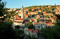 Lozisca village, Brac, Croatia