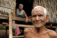 old, couple, elderly, cambodia, person, people