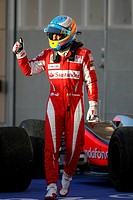 Fernando Alonso, Scuderia Ferrari F10, 14/03/10, Grand Prix, Bahrain, Persian Gulf
