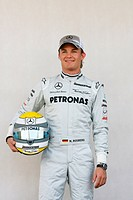 Nico Rosberg, Mercedes GP MGP W01, 14/03/10, Grand Prix, Bahrain, Persian Gulf