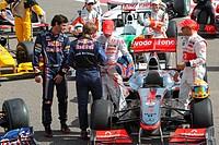 F1 Drivers 2010 Season, 14/03/10, Grand Prix, Bahrain, Persian Gulf