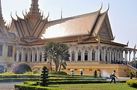 Phnom Penh (Cambodia): the Royal Palace
