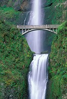 portland, landscape, travel, bridge, scenic, waterfall
