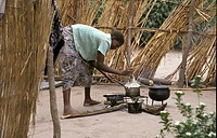 nshima, girl, cooking, zambia, person, people