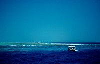 Dhoni, Maldives traditional Fishing Boat, Indian Ocean, Maldives Island