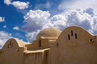 Dar al Islam Mosque at Abiquiu in Northern New Mexico