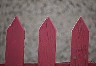 saskatchewan, red, scenic, fence, picket, old
