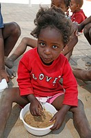 soup, girl, namibia, children, person, people